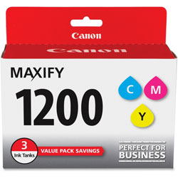 Canon Ink Tanks f/MB2020/MB2320 3/PK, CYN/MA/YW