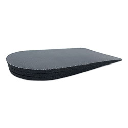 Core Products Adjust-A-Lift Heel Lift, Women up to Size 8.5, Men up to Size 11, Leather, Rubber