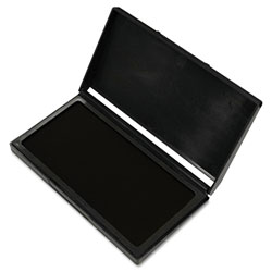 Consolidated Stamp Microgel Stamp Pad for 2000 PLUS, 2 3/4 x 4 1/4, Black