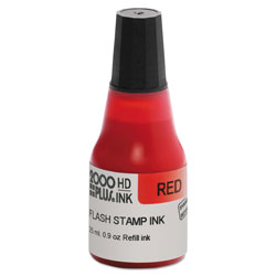 Cosco Pre-Ink High Definition Refill Ink, Red, 0.9 oz. Bottle