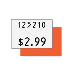 Consolidated Stamp Two-Line Pricemarker Labels, 0.44 x 0.81, White, 1,000/Roll, 3 Rolls/Box