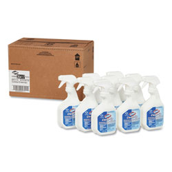 Clorox Clean-Up Disinfectant Cleaner with Bleach, 32oz Smart Tube Spray, 9/Carton