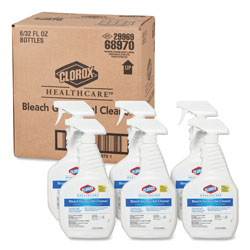 Clorox Bleach Germicidal Cleaner, 32oz Spray Bottle, 6/Carton