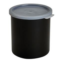 Cambro Crock Solid 2.7 Quart With Lid Black