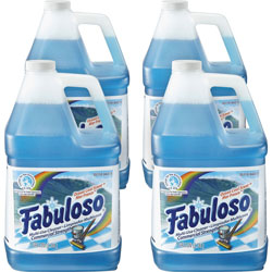 Fabuloso® All-Purpose Cleaner, Ocean Cool Scent, 1gal Bottle, 4/Carton