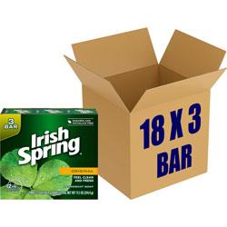 Irish Spring® Bar Soap, Irish Spring, 12-Hr Protection, 3.75Oz Bar, 18/Ct
