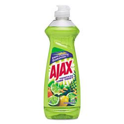 Ajax Dish Detergent, Lime Scent, 12.6 Oz Bottle, 20/carton