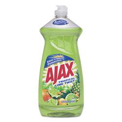 Ajax Dish Detergent, Tropical Lime Twist, 28 Oz Bottle, 9/carton
