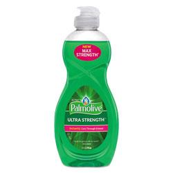 Colgate Palmolive Dishwashing Liquid, Ultra Strength, Original Scent, 10 oz Bottle, 16/Carton