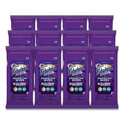 Fabuloso® Multi Purpose Wipes, Lavender, 7 x 7, 24/Pack, 12 Packs/Carton