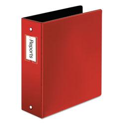 Cardinal Premier Easy Open Locking Round Ring Binder, 3 Rings, 3 in Capacity, 11 x 8.5, Red