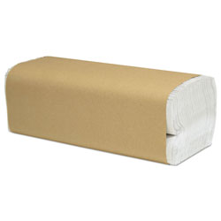 Cascades Select Folded Paper Towels, C-Fold, White, 10 x 13, 200/Pack, 12/Carton