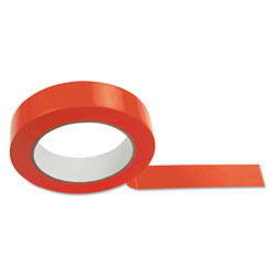 CH Floor Tape, 1 in x 36 yds, Red