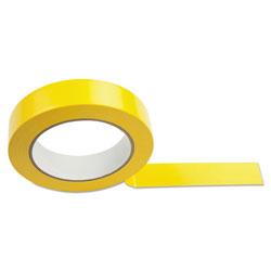 CH Floor Tape, 1 in x 36 yds, Yellow