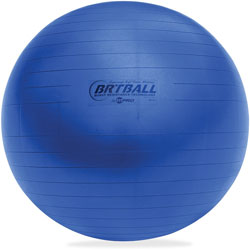 Champion Training/Excercise Ball, 42cm, Soft, Royal Blue