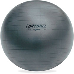 Champion Training/Excercise Ball, 65cm, Gray