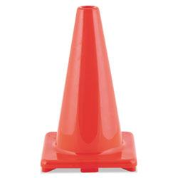 CH Hi-Visibility Vinyl Cones, 18 in Tall, Orange