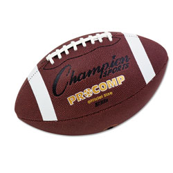 Champion Pro Composite Football, Official Size, 22 in, Brown