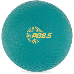 CH Playground Ball, 8 1/2 in Diameter, Green