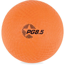 CH Playground Ball, 8 1/2 in Diameter, Orange