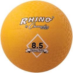 CH Playground Ball, 8 1/2 in Diameter, Yellow