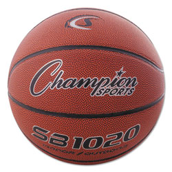 Champion Composite Basketball, Official Size, 30 in, Brown