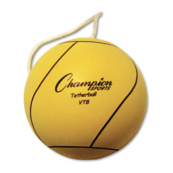Champion Tether Ball, Playground Size, Optic Yellow
