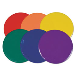 CH Extra Large Poly Marker Set, 12 in Diameter, Assorted Colors, 6 Spots/Set