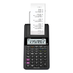 Casio HR-10RC Handheld Portable Printing Calculator, Black Print, 1.6 Lines/Sec