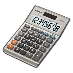 Casio MS-80B Tax and Currency Calculator, 8-Digit LCD