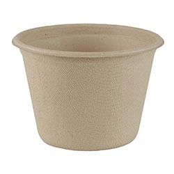 World Centric 4 oz Cups, Unbleached Plant Fiber, Compostable