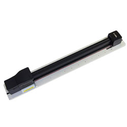 Carl Paper Trimmer, 80-Sheet Capacity, 5 inWx39-1/4 inLx3 inH, Black/Silver
