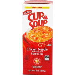 Lipton® Cup-a-Soup, Chicken Noodle, Single Serving, 22/Pack
