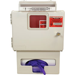 Covidien Sharps Container System, Locking, Glovebox, Wall Mount, 5 Qt.