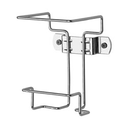 Covidien Wall Container Bracket, 1 Qt. , Non-Locking, Chrome