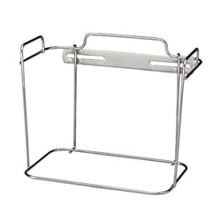 Covidien Wall Bracket for 2 Gal. Container, Non-Locking, Chrome