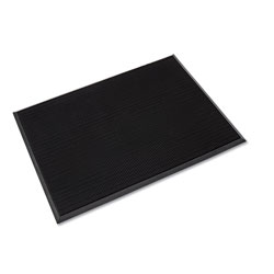 Crown Mats & Matting Mat-A-Dor Entrance/Antifatigue Mat, Rubber, 36 x 72, Black