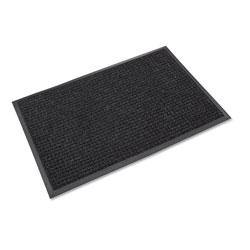 Crown Mats & Matting Super-Soaker Wiper Mat with Gripper Bottom, Polypropylene, 36 x 60, Charcoal