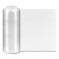 Coastwide Professional™ Extended Core Pre-Stretched Wrap, 14.5 in x 1,450 ft, 32-Gauge, Clear, 4/Carton