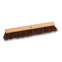 Coastwide Professional™ Palmyra Push Broom Head, 24 in, Brown