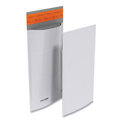 Coastwide Professional™ Self-Sealing Poly Bubble Mailer, #00, Square Flap, Self-Adhesive Closure, 5.75 x 9, White, 250/Pack
