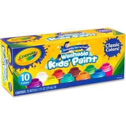 Crayola Washable Kids Paint, 2oz., Assorted