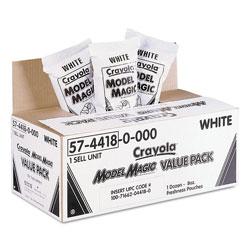 Crayola Model Magic Modeling Compound, 8 oz, White, 6 lbs.
