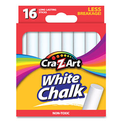 Cra-Z-Art® White Chalk, 16/Pack