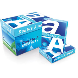 Double A Copy Paper, 20lb, 96B, 8-1/2 in x 11 in, 10/CT, White