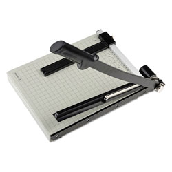 Dahle Vantage Guillotine Paper Trimmer/Cutter, 15 Sheets, 12 in Cut Length