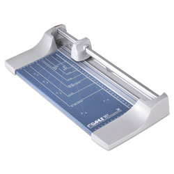 Dahle Rolling/Rotary Paper Trimmer/Cutter, 7 Sheets, 12 in Cut Length