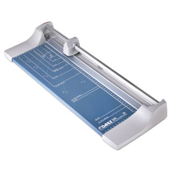 Dahle Rolling/Rotary Paper Trimmer/Cutter, 7 Sheets, 18 in Cut Length