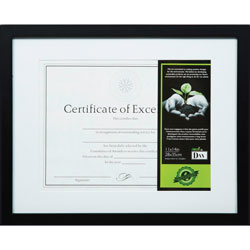 The Burns Group Frame, FSC Wood, 11 in x 14 in, Black