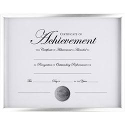 Dax Document Frame, W/ Certificate, 11-3/5 inWx9/10 inLx9-1/10 inH, Sr